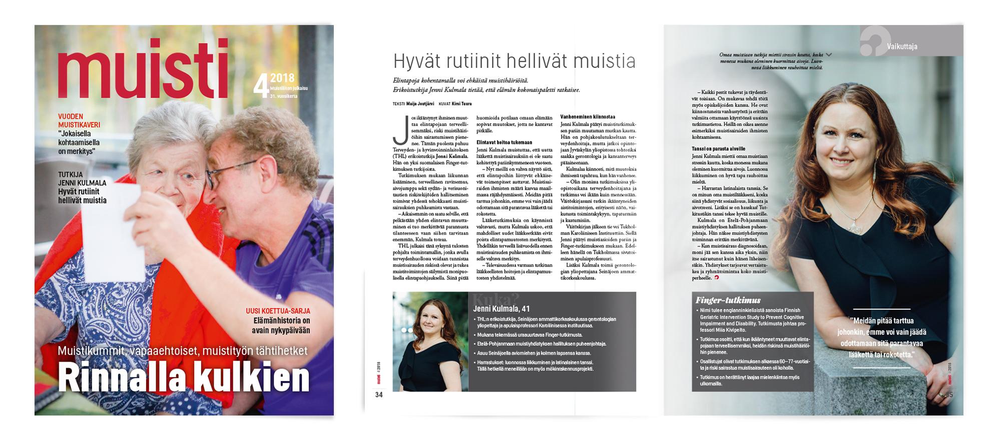 Muisti-lehti 4/2018, Mainostoimisto MAK Media Oy, Forssa
