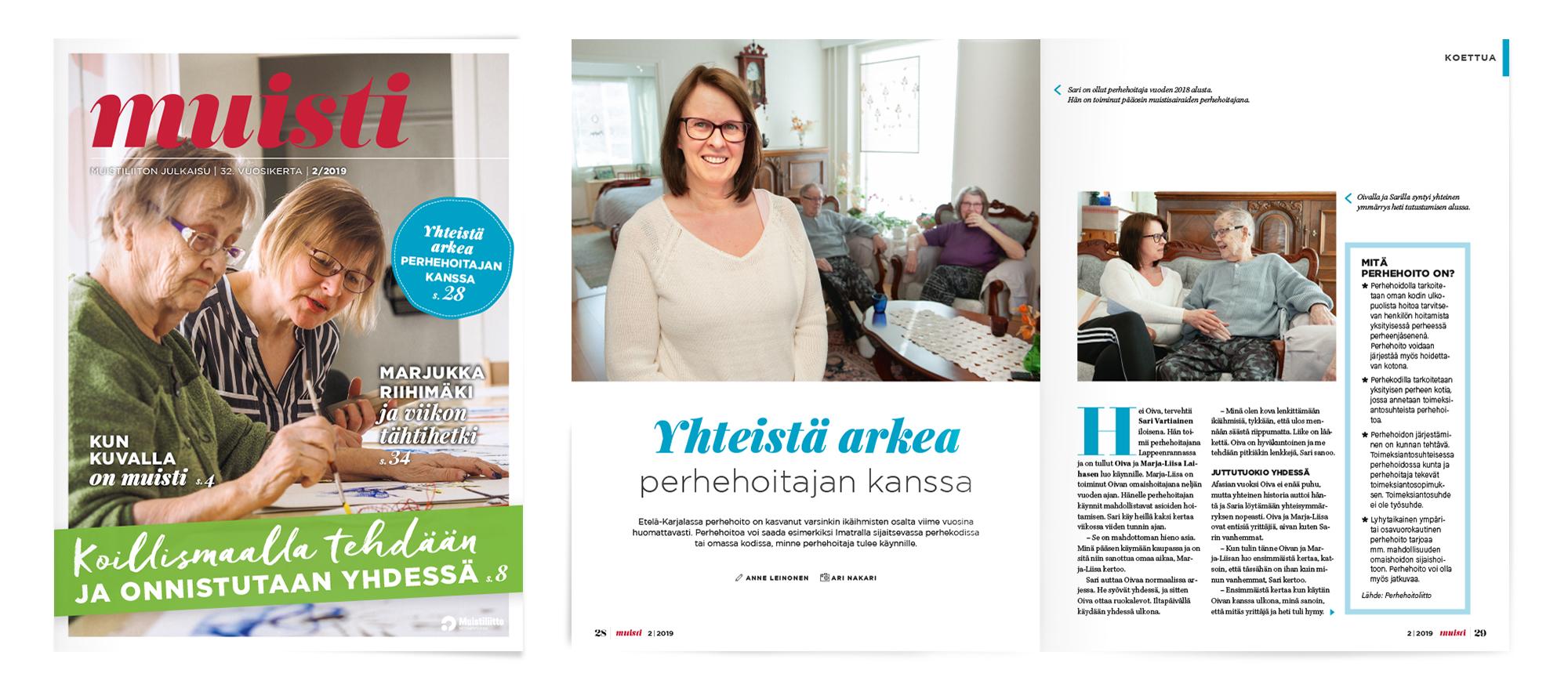 Muistiliitto ry, Muisi-lehti 2/2019